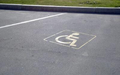 Проверка права инвалида на парковку